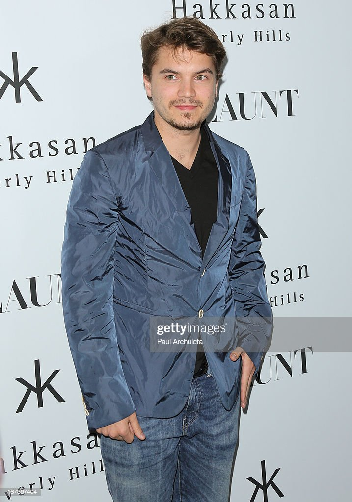 Actor <a gi-track='captionPersonalityLinkClicked' href=/galleries/search?phrase=Emile+Hirsch&family=editorial&specificpeople=210805 ng-click='$event.stopPropagation()'>Emile Hirsch</a> attends Flaunt magazine En Garde! issue launch party on November 7, 2013 in Beverly Hills, California.