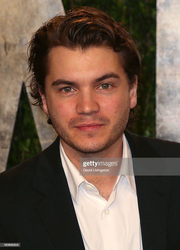 Actor Emile Hirsch attends the 2013 Vanity Fair Oscar Party at the Sunset Tower Hotel on February 24, 2013 in West Hollywood, California.