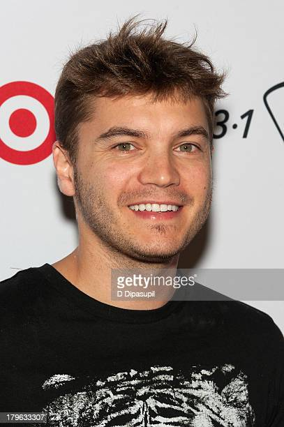 Actor Emile Hirsch attends the 31 Phillip Lim for Target Launch Event at Spring Studio on September 5 2013 in New York City