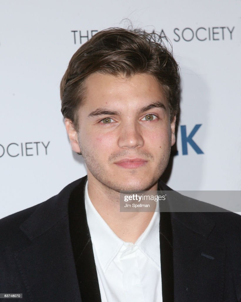 Actor Emile Hirsch attends the Cinema Society and Details screening of 'Milk' at the Landmark Sunshine Theater on November 18, 2008 in New York City.