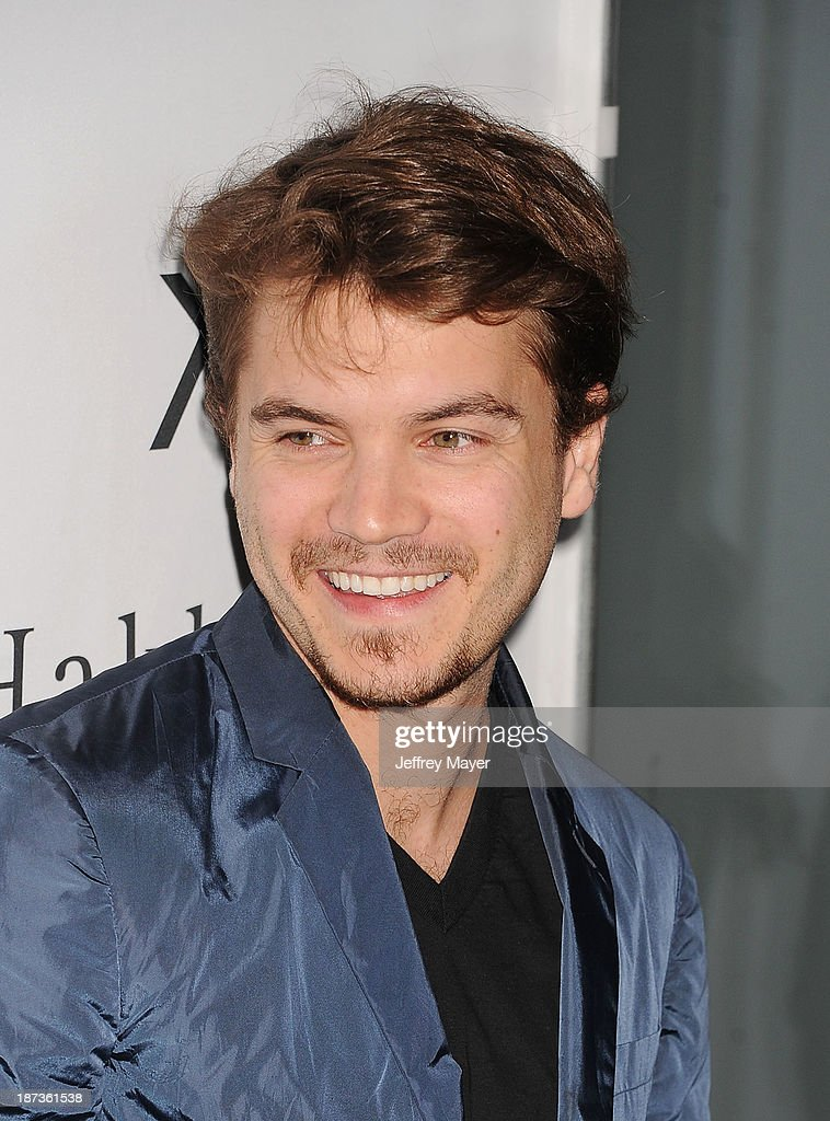 Actor Emile Hirsch attends the Flaunt Magazine Issue Party with Selena Gomez And Amanda De Cadenet held at Hakkasan Beverly Hills on November 7, 2013 in Beverly Hills, California.