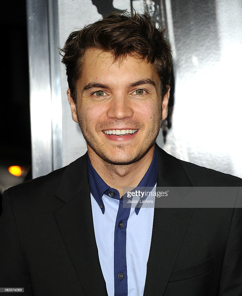 Actor Emile Hirsch attends the premiere of 'Captain Phillips' at the Academy of Motion Picture Arts and Sciences on September 30, 2013 in Beverly Hills, California.