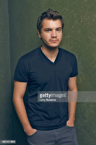 Actor Emile Hirsch from 'Ten Thousand Saints' poses for a portrait at the Village at the Lift Presented by McDonald's McCafe during the 2015 Sundance...