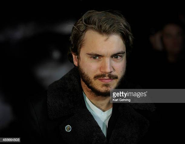 Actor Emile Hirsch wore the insignia of Navy SEAL team 10 on his jacket lapel while doing press interviews at a movie screening Thursday night...