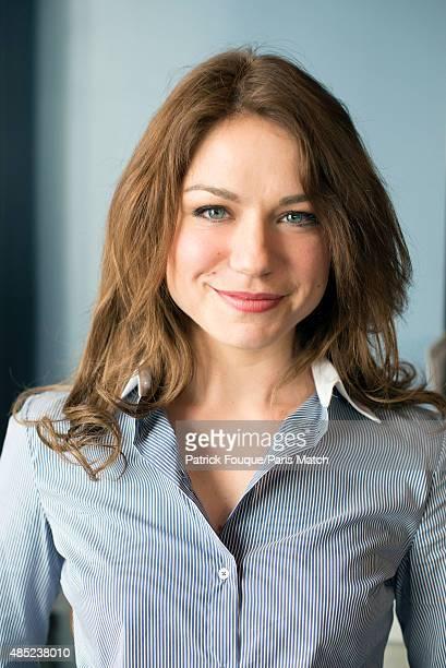 Actor Emilie Dequenne is photographed for Paris Match on April 10 2014 in Paris France