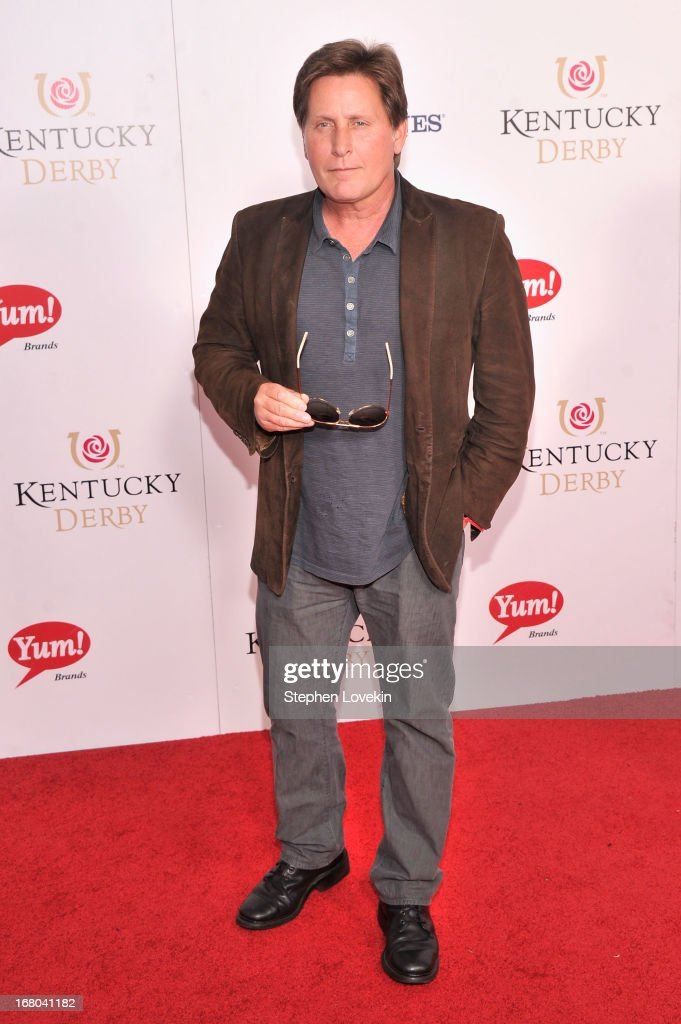 Actor Emilio Estevez attends the 139th Kentucky Derby at Churchill Downs on May 4, 2013 in Louisville, Kentucky.