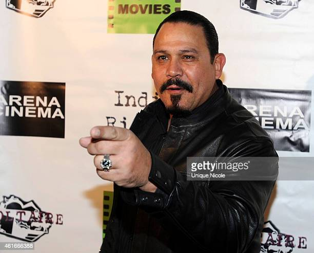 Actor Emilio Rivera arrives at the Red Carpet Premiere Screening Of 'Pretty Rosebud' at Arena Cinema Hollywood on January 16 2015 in Hollywood...