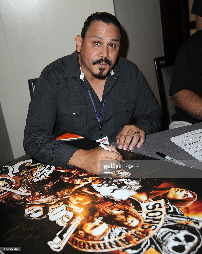 Actor Emilio Rivera participates in The Hollywood Show held at Westin LAX Hotel on July 13, 2013 in Los Angeles, California.