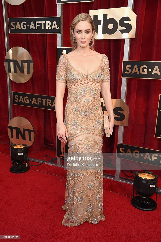 actor-emily-blunt-attends-the-23rd-annual-screen-actors-guild-awards-picture-id633036122