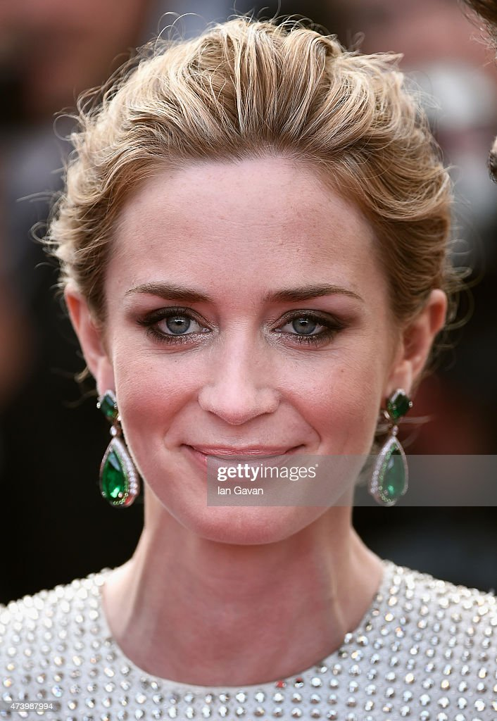 Actor <a gi-track='captionPersonalityLinkClicked' href=/galleries/search?phrase=Emily+Blunt&family=editorial&specificpeople=213480 ng-click='$event.stopPropagation()'>Emily Blunt</a> attends the 'Sicario' Premiere during the 68th annual Cannes Film Festival on May 19, 2015 in Cannes, France.