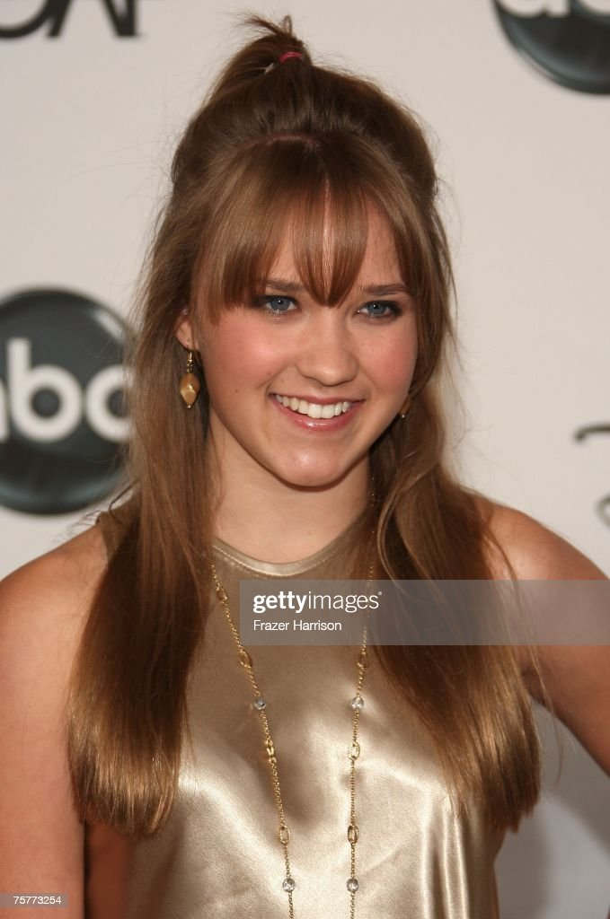 Actor Emily Osment attends the 2007 ABC All Star Party held at the Beverly Hilton Hotel, on July 26, 2007 in Beverly Hills, California.