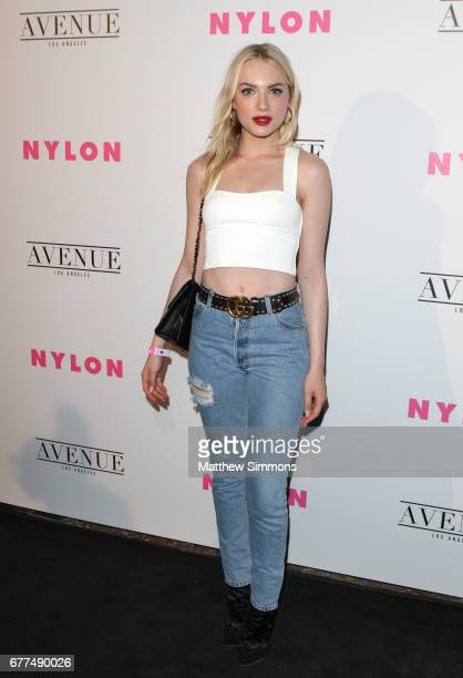 Actor Emily Ruhl attends NYLON's Annual Young Hollywood May Issue Event at Avenue on May 2 2017 in Los Angeles California