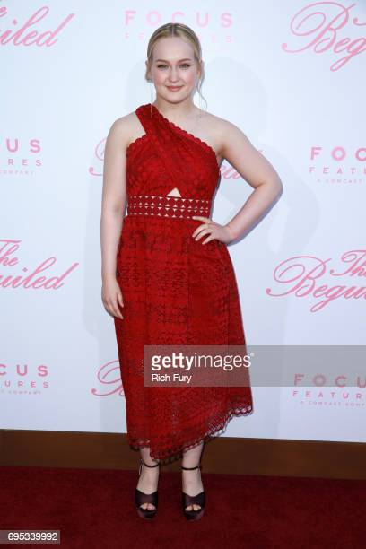 Actor Emma Howard attends the premiere of Focus Features' 'The Beguiled' at the Directors Guild of America on June 12 2017 in Los Angeles California