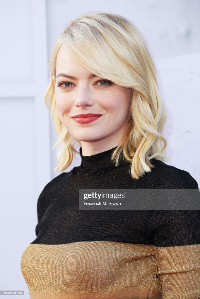 Actor Emma Stone arrives at American Film Institute's 45th Life Achievement Award Gala Tribute to Diane Keaton at Dolby Theatre on June 8, 2017 in Hollywood, California. 26658_005