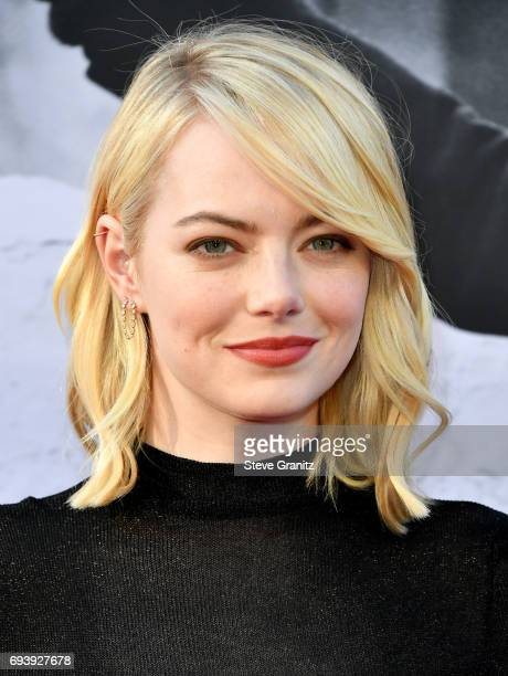 Actor Emma Stone arrives at the AFI Life Achievement Award Gala Tribute to Diane Keaton at Dolby Theatre on June 8 2017 in Hollywood California
