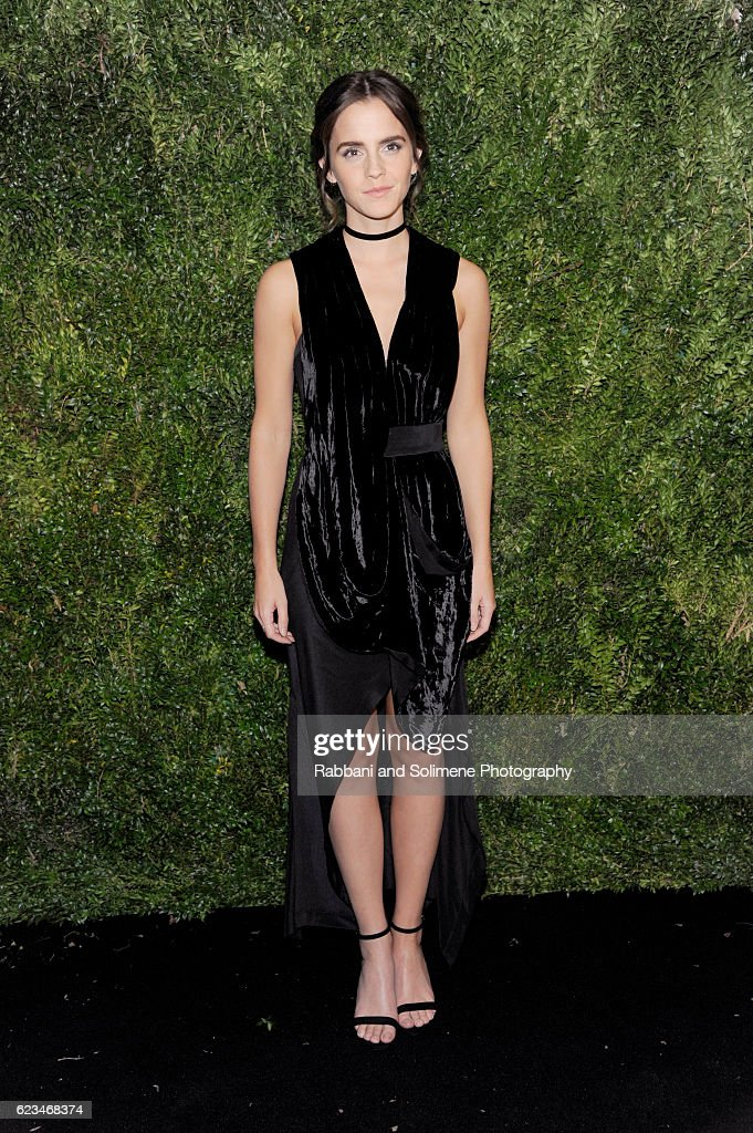 Actor Emma Watson attends the 2016 Museum Of Modern Art Film Benefit presented by Chanel - A Tribute To Tom Hanks at Museum of Modern Art on November 15, 2016 in New York City.