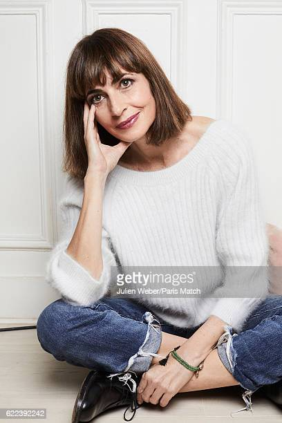 Actor Emmanuelle Bach is photographed for Paris Match on October 24 2016 in Paris France