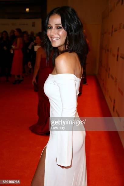 Actor Emmanuelle Chriqui attends the 24th Annual Race To Erase MS Gala at The Beverly Hilton Hotel on May 5 2017 in Beverly Hills California