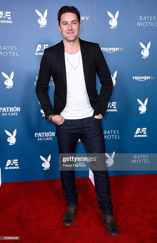 Actor Emmett Skilton attends Playboy and A&E 'Bates Motel' Event during Comic-Con International 2014 on July 25, 2014 in San Diego, California.