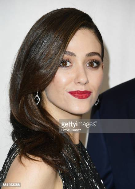Actor Emmy Rossum at Bottega Veneta Hosts Hammer Museum Gala In The Garden on October 14 2017 in Westwood California