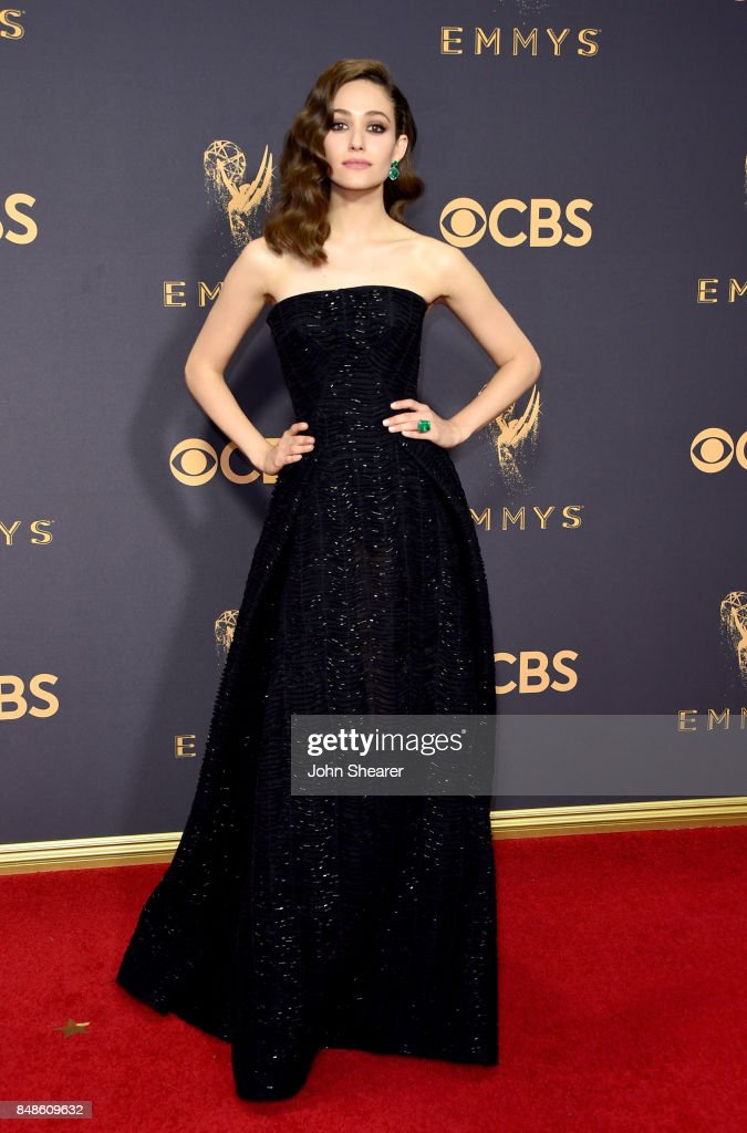 Actor Emmy Rossum attends the 69th Annual Primetime Emmy Awards at Microsoft Theater on September 17, 2017 in Los Angeles, California.