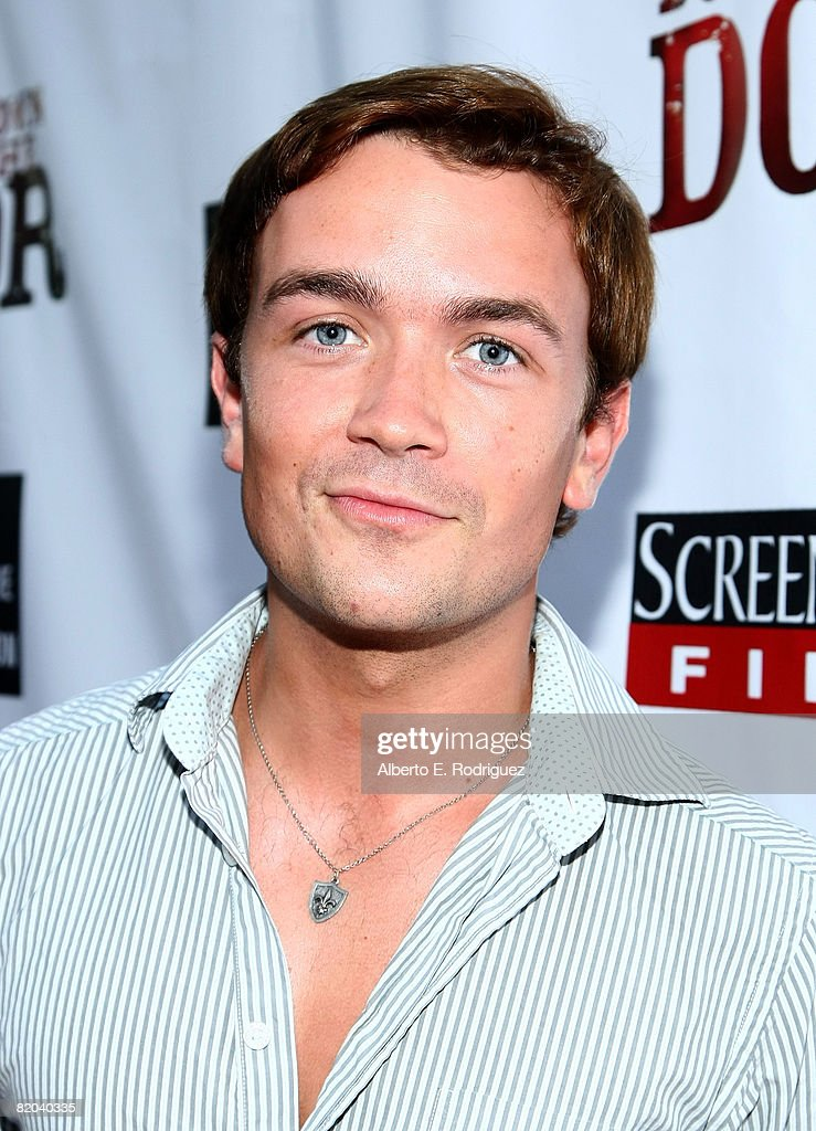 Actor Emrhys Cooper arrives at the premiere of the surfing documentary 'Bustin' Down the Door' held at the Arclight Theaters on July 22, 2008 in Los Angeles, California.