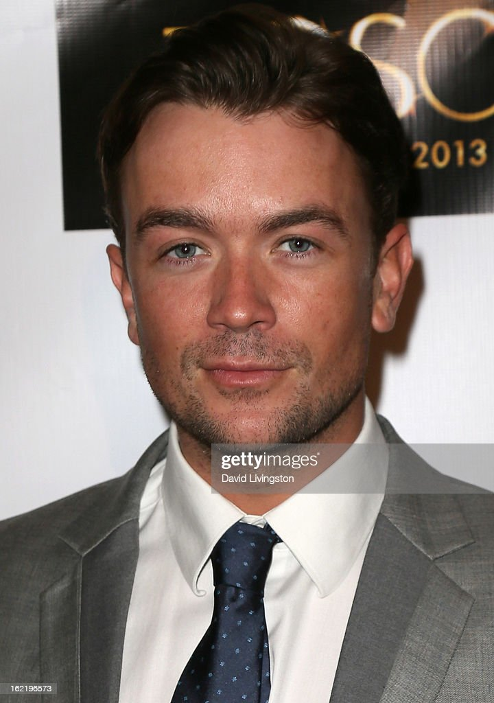 Actor Emrhys Cooper attends the 6th Annual Toscar Awards at the Egyptian Theatre on February 19, 2013 in Hollywood, California.
