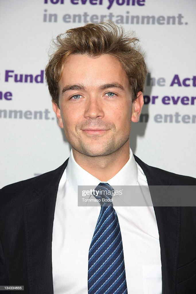 Actor Emrhys Cooper attends the Actors' Fund's 15th annual Tony Awards party held at the Skirball Cultural Center on June 12, 2011 in Los Angeles, California.