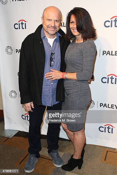 Actor Enrico Colantoni and his wife attend The Paley Center for Media's PaleyFest 2014 Honoring 'Veronica Mars' at the Dolby Theatre on March 13 2014...