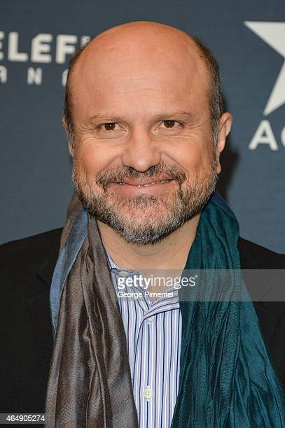 Actor Enrico Colantoni arrives at the 2015 Canadian Screen Awards at the Four Seasons Centre for the Performing Arts on March 1 2015 in Toronto Canada