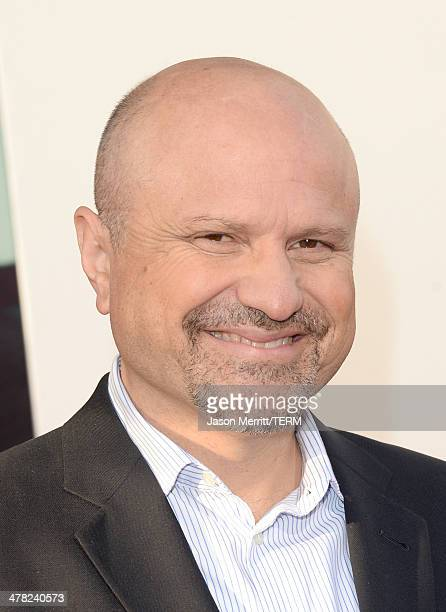 Actor Enrico Colantoni arrives at the Los Angeles premiere of 'Veronica Mars' at TCL Chinese Theatre on March 12 2014 in Hollywood California