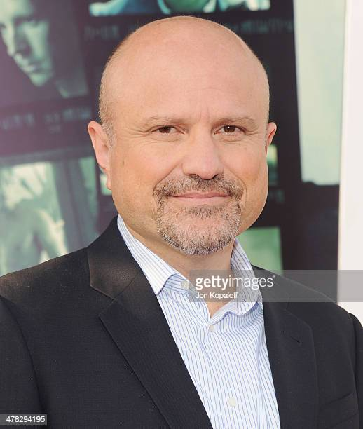 Actor Enrico Colantoni arrives at the Los Angeles premiere 'Veronica Mars' at TCL Chinese Theatre on March 12 2014 in Hollywood California