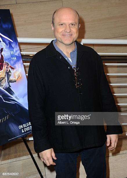 Actor Enrico Colantoni arrives for the Premiere Of Warner Home Movies' 'Justice League Dark' held at The Paley Center for Media on January 23 2017 in...