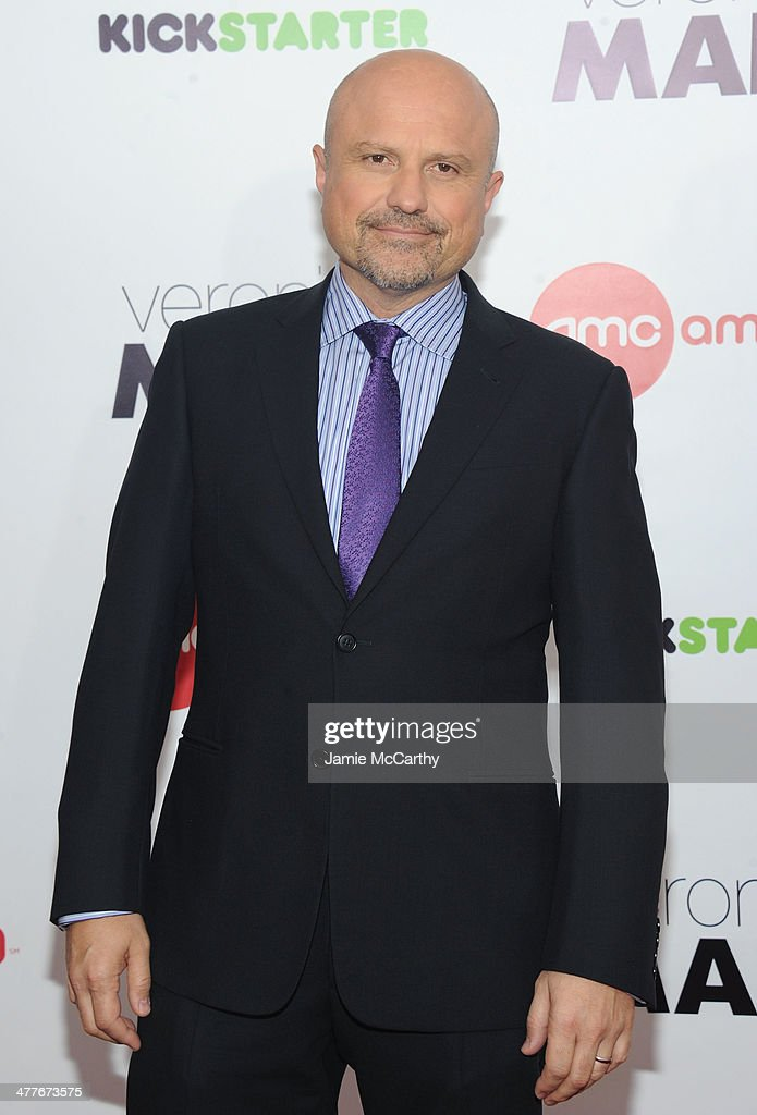 Actor <a gi-track='captionPersonalityLinkClicked' href=/galleries/search?phrase=Enrico+Colantoni&family=editorial&specificpeople=631109 ng-click='$event.stopPropagation()'>Enrico Colantoni</a> attends the 'Veronica Mars' screening at AMC Loews Lincoln Square on March 10, 2014 in New York City.