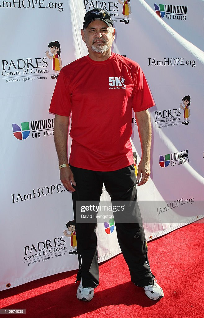 Actor Enrique Castillo attends Padres Contra El Cancer's 5th Annual Stand for HOPE! 5k Run/Walk at the Rose Bowl on June 24, 2012 in Pasadena, California.