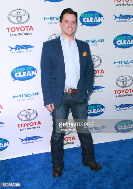 Actor Enrique Sapene attends Keep it Clean Live Comedy Benefit for Waterkeeper Alliance at Avalon Hollywood on April 20 2017 in Los Angeles California