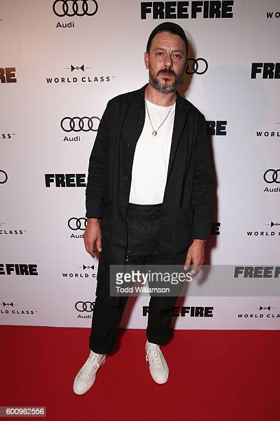 Actor Enzo Cilenti attends the 'Free Fire' premiere screening party hosted by Bulleit at Early Mercy on September 8 2016 in Toronto Canada