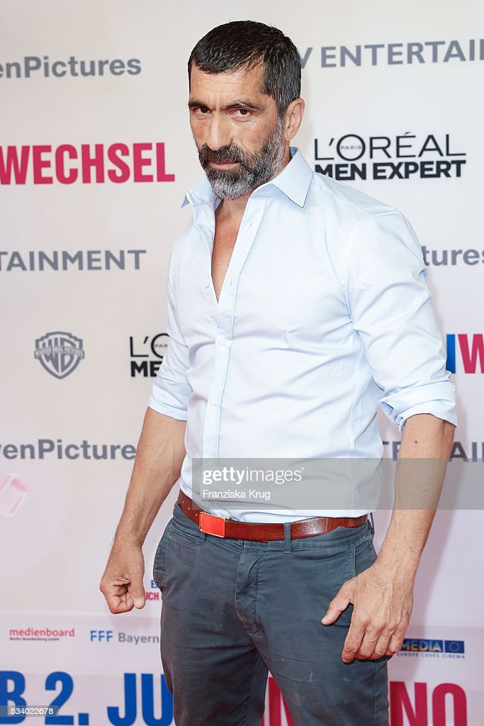 Actor Erdal Yildiz attends the Premiere of 'Seitenwechsel' at the Zoo Palast on May 24, 2016 in Berlin, Germany.