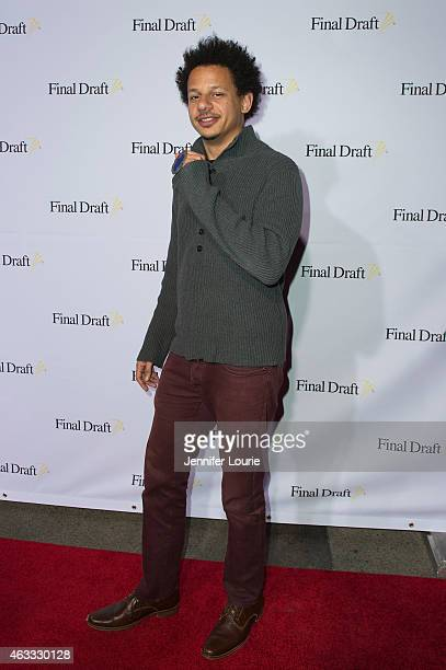 Actor Eric Andre arrives at the 10th Annual Final Draft Awards at the Paramount Theater on the Paramount Studios lot on February 12 2015 in Hollywood...