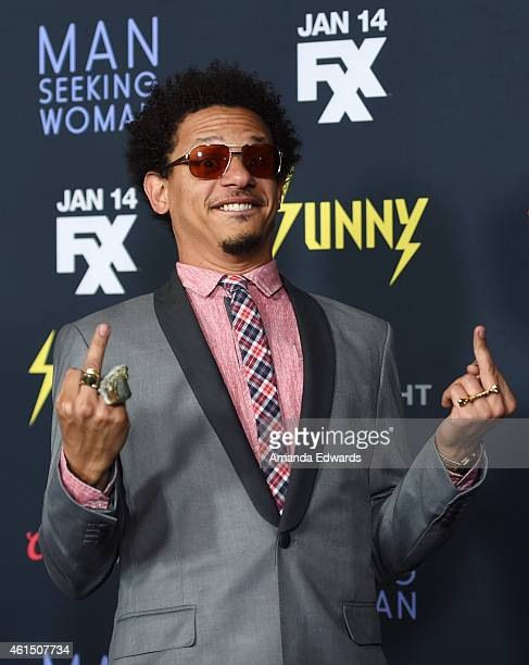 Actor Eric Andre arrives at the Red Carpet Premiere of FXX's 'It's Always Sunny In Philadelphia' and 'Man Seeking Woman' at the DGA Theater on...