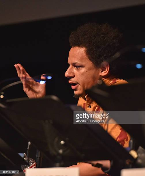 Actor Eric Andre attends The Film Independent's Live Read of 'Goodfellas' at Bing Theatre At LACMA on January 22 2015 in Los Angeles California