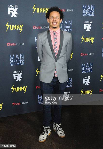 Actor Eric Andre attends the premiere of FXX's 'It's Always Sunny In Philadelphia' and 'Man Seeking Woman' at The DGA Theater on January 13 2015 in...