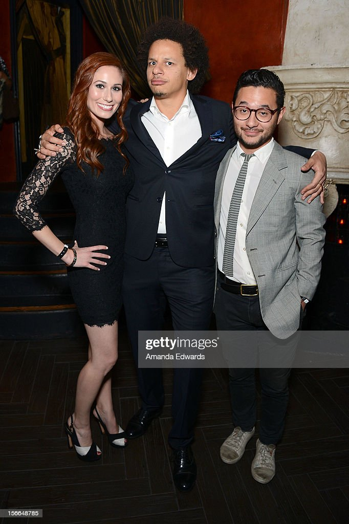 Actor Eric Andre (C) attends Variety's 3rd annual Power of Comedy event presented by Bing benefiting the Noreen Fraser Foundation held at Avalon on November 17, 2012 in Hollywood, California.
