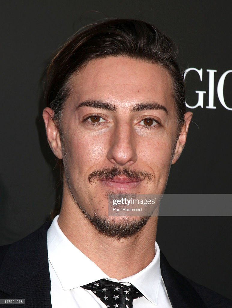 Actor <a gi-track='captionPersonalityLinkClicked' href=/galleries/search?phrase=Eric+Balfour&family=editorial&specificpeople=217555 ng-click='$event.stopPropagation()'>Eric Balfour</a> arrives at the Armani party during Paris Photo LA - Opening Night at Paramount Studios on April 25, 2013 in Hollywood, California.