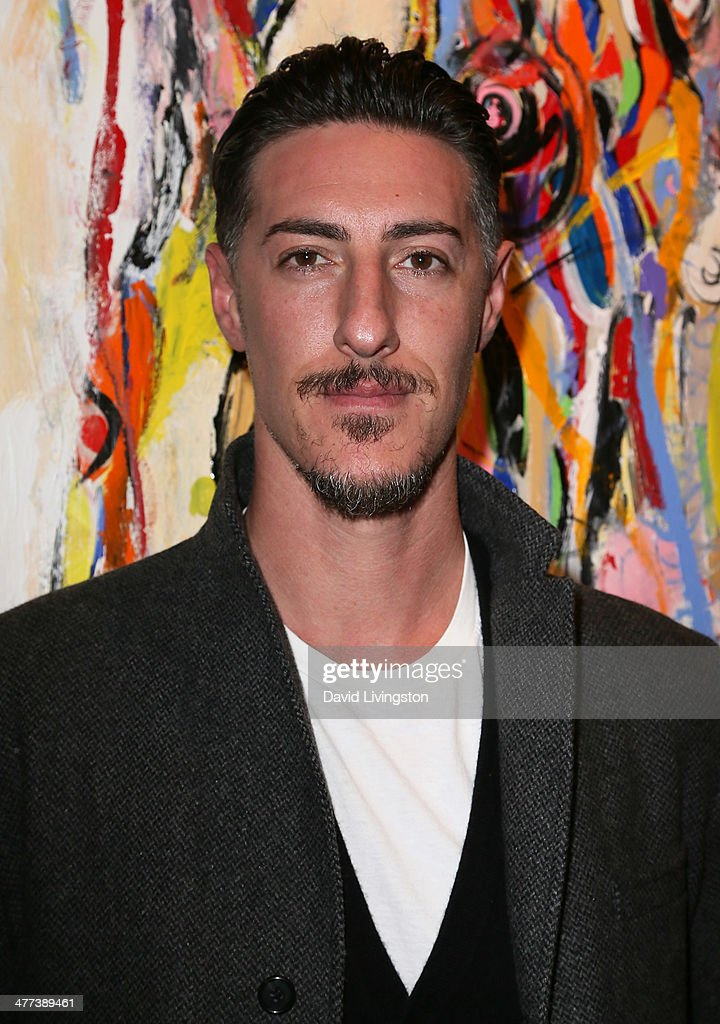 Actor <a gi-track='captionPersonalityLinkClicked' href=/galleries/search?phrase=Eric+Balfour&family=editorial&specificpeople=217555 ng-click='$event.stopPropagation()'>Eric Balfour</a> attends the Alexander Yulish 'An Unquiet Mind' VIP opening reception at KM Fine Arts LA Studio on March 8, 2014 in Los Angeles, California.