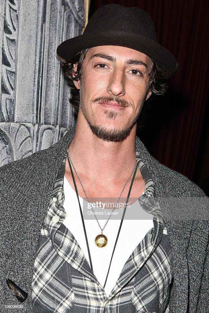 Actor <a gi-track='captionPersonalityLinkClicked' href=/galleries/search?phrase=Eric+Balfour&family=editorial&specificpeople=217555 ng-click='$event.stopPropagation()'>Eric Balfour</a> the Opening Night of 'Rock of Ages' at the Pantages Theatre on February 15, 2011 in Hollywood, California.