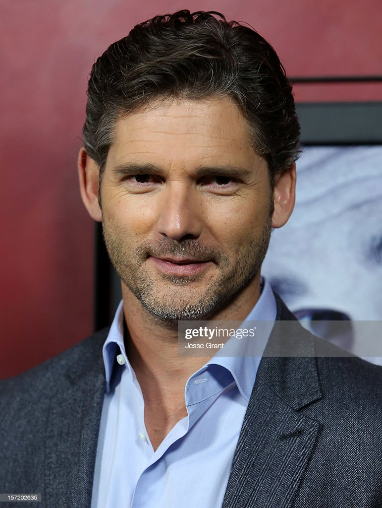 Actor Eric Bana arrives at the 'Deadfall' Los Angeles premiere at ArcLight Hollywood on November 29, 2012 in Hollywood, California.