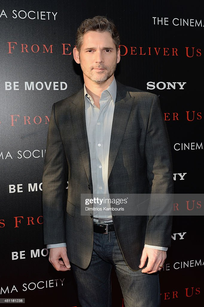 Actor Eric Bana attends the 'Deliver Us From Evil' screening hosted by Screen Gems & Jerry Bruckheimer Films with The Cinema Society at SVA Theater on June 24, 2014 in New York City.
