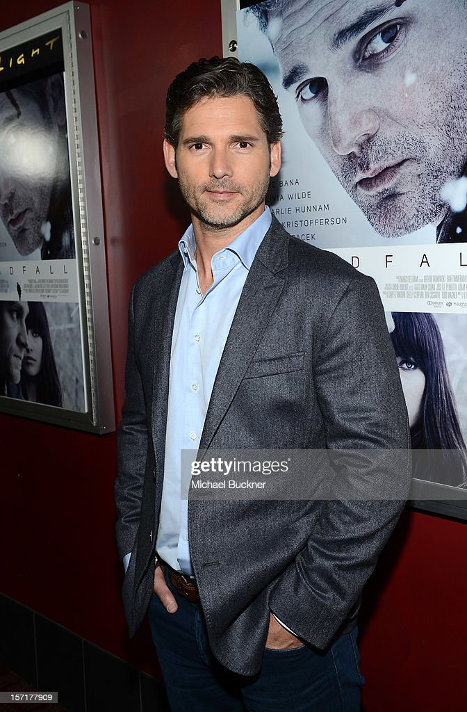 Actor Eric Bana attends the premiere of Magnolia Pictures' 'Deadfall' at the at the ArcLight Cinemas on November 29, 2012 in Hollywood, California.