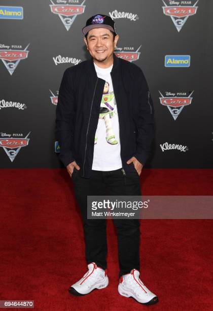 Actor Eric Bauza attends the premiere of Disney and Pixar's 'Cars 3' at Anaheim Convention Center on June 10 2017 in Anaheim California